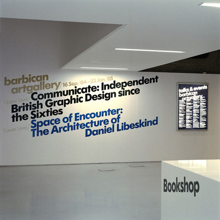 Barbican Arts Centre Identity 3