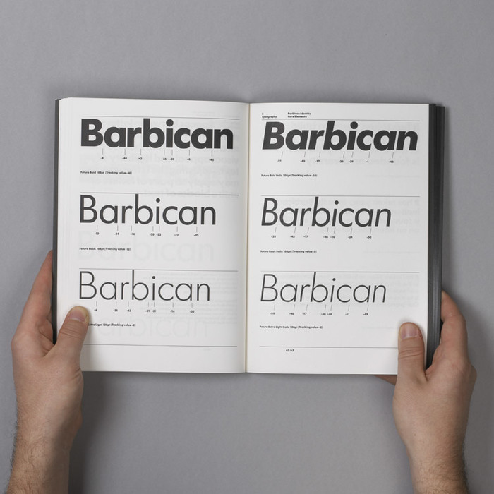 Barbican Arts Centre Identity 13