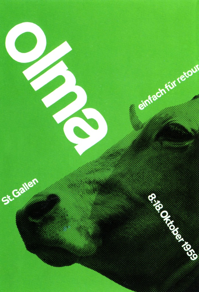 OLMA St. Gallen 1959 Poster