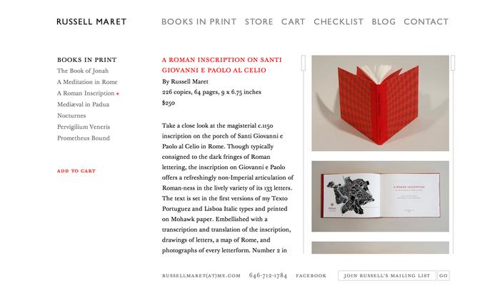 Russell Maret Website 2