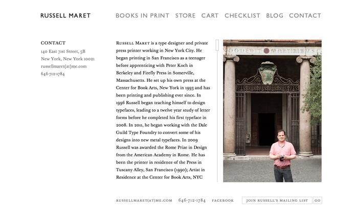 Russell Maret Website 3