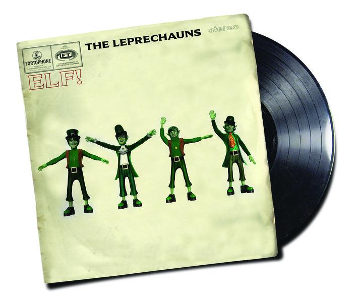 Pastiche of the Beatles' 1965 Help album cover
