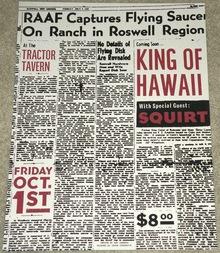 King of Hawaii at the Tractor Tavern
