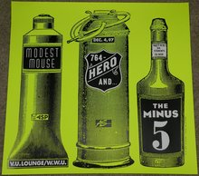 Modest Mouse, 764-HERO, The Minus 5 at V.U.Lounge