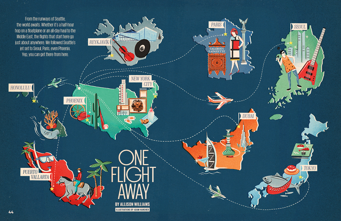 """One Flight Away"" – Seattle Met, Feb 2013"