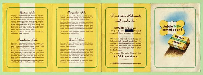 Knorr Soßen-Würfel 1