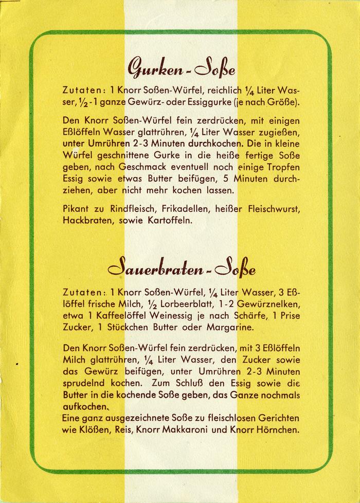 Knorr Soßen-Würfel 2