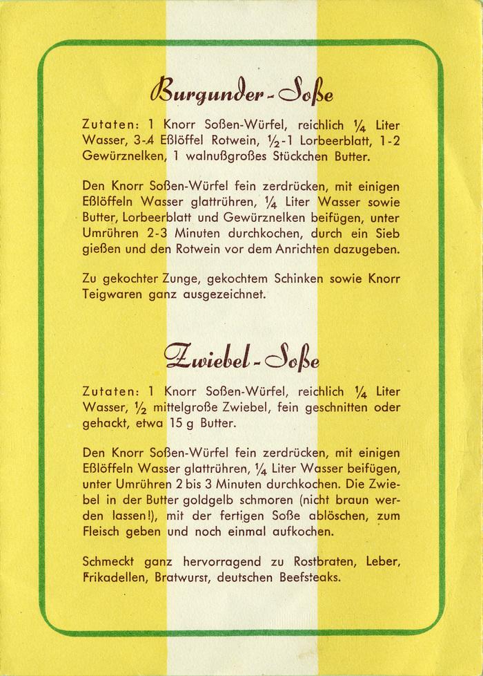Knorr Soßen-Würfel 3
