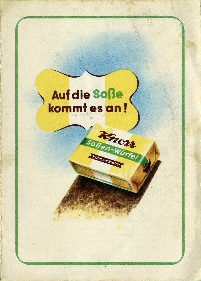 Knorr Soßen-Würfel 5