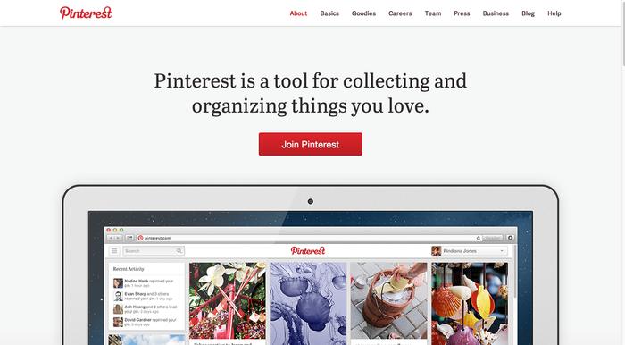 Pinterest.com (2013 redesign) 4