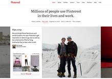 Pinterest.com (2013 redesign)