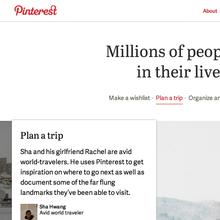 Pinterest.com 2013 Redesign