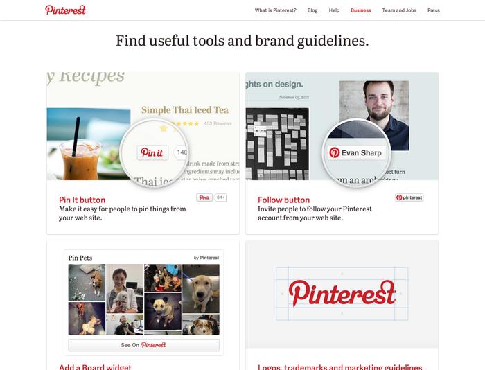 Pinterest.com (2013 redesign) 6