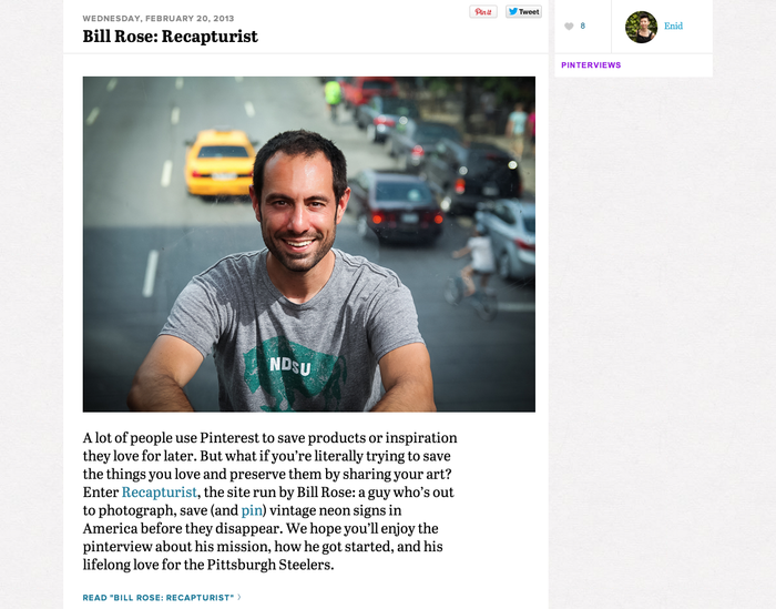 Pinterest.com (2013 redesign) 8
