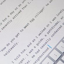 iA Writer app