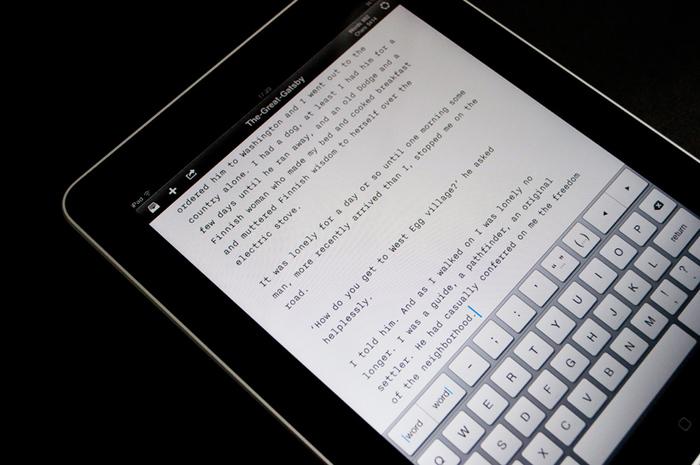 iA Writer app 2