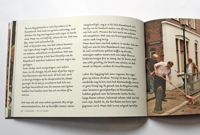 Op z'n Raams anniversary book 4