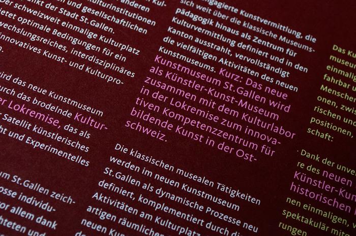 Kunstmuseum St.Gallen identity 4