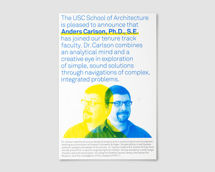 USC School of Architecture Events 12