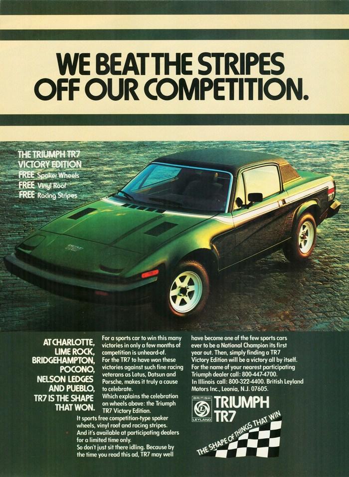 Triumph Automobile Ads (1977–80) 2
