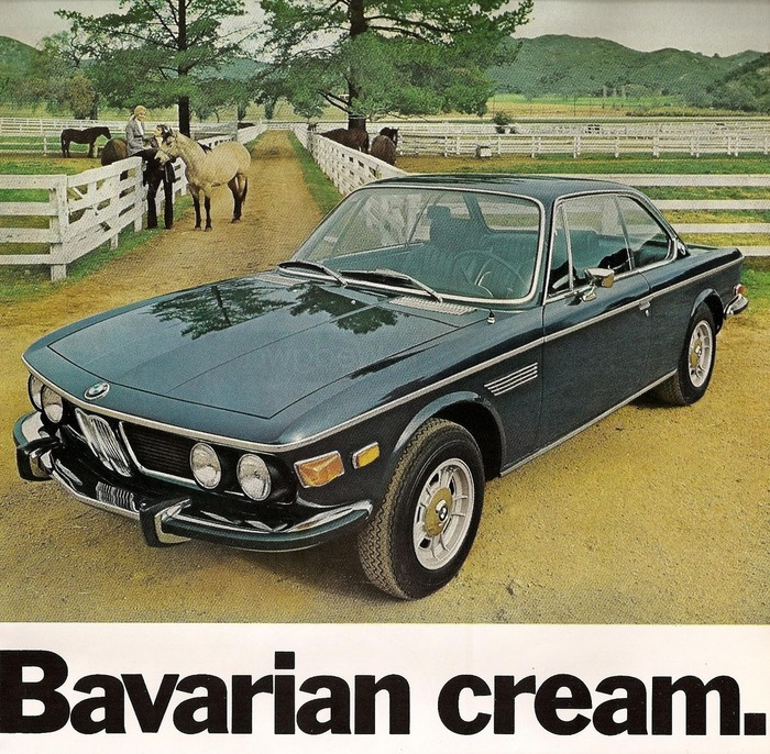 BMW 3.0 CS Sport Coupe Ad (1974)