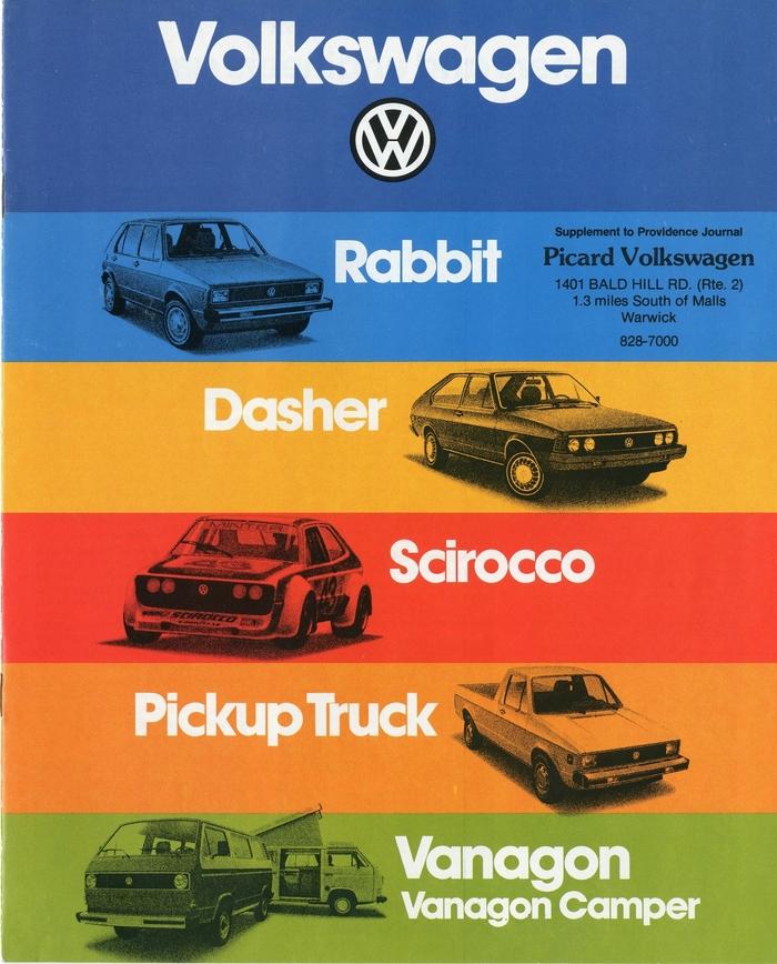 Volkswagen Sales Brochure (1979)