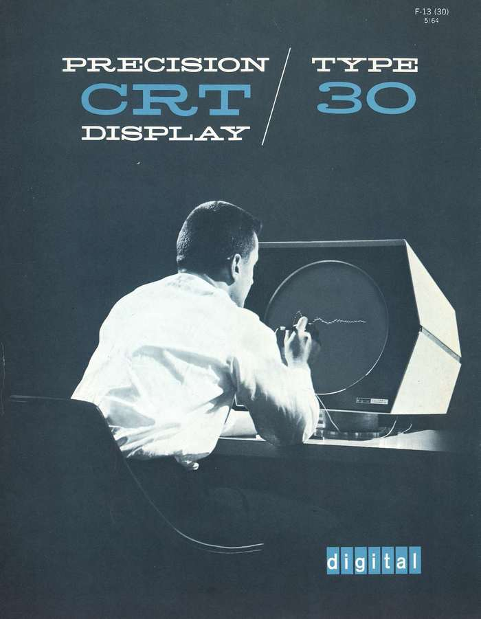 Digital Precision CRT Display Type 30 Manual 1