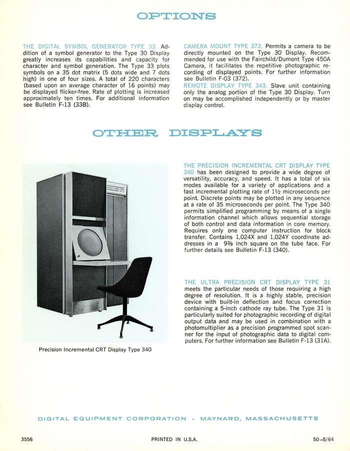 Digital Precision CRT Display Type 30 Manual 3