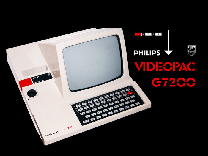 Philips Videopac G7200 Video Game Console 1