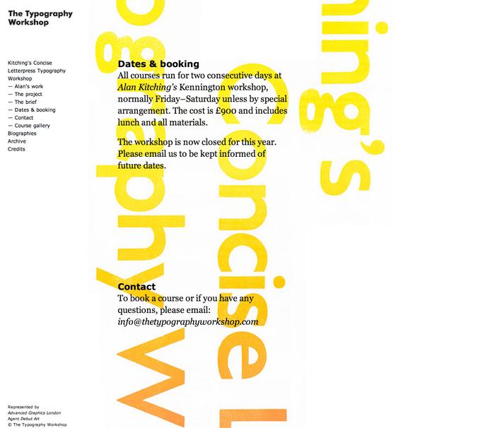 The Typography Workshop 4