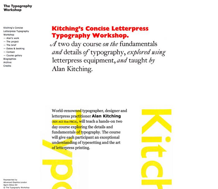The Typography Workshop 8
