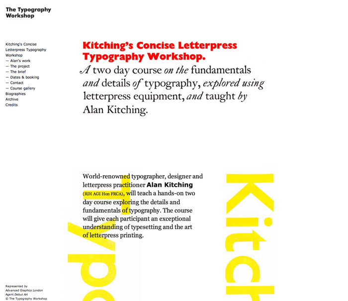 The Typography Workshop 8