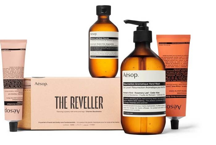 Aēsop 'Of Muse and Myth' gift kits 2