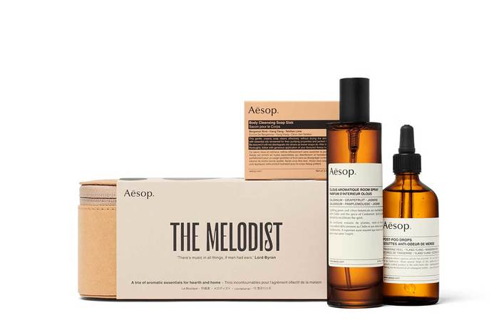 Aēsop 'Of Muse and Myth' gift kits 6