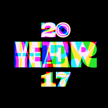 Happy New Year 2017 animated GIF