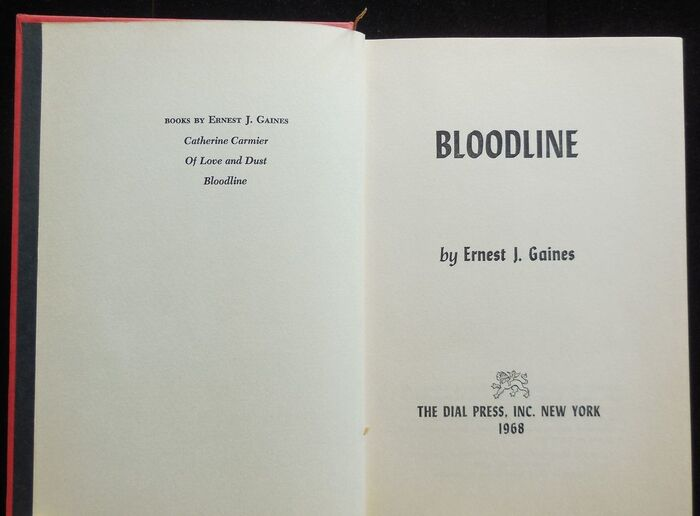 The title page is set in  Bold Condensed and Italic.
