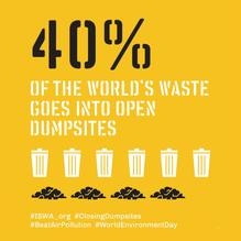 Closing Dumpsites campaign by ISWA