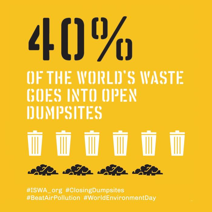 Closing Dumpsites campaign by ISWA 1