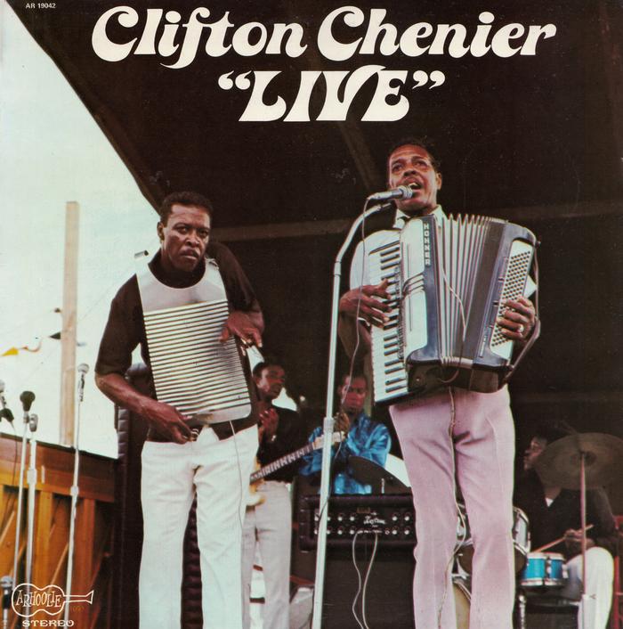 """""""Live"""" – Clifton Chenier"""