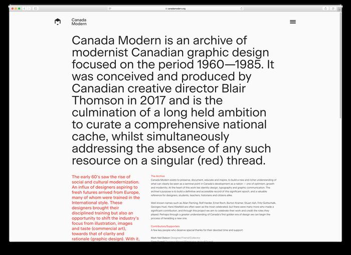 Canada Modern 4