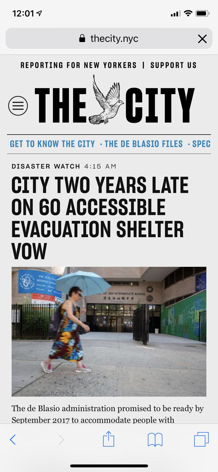 The City website 3
