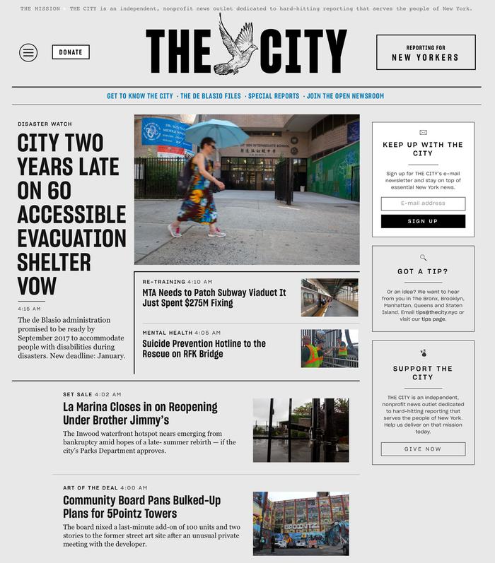The City website 1