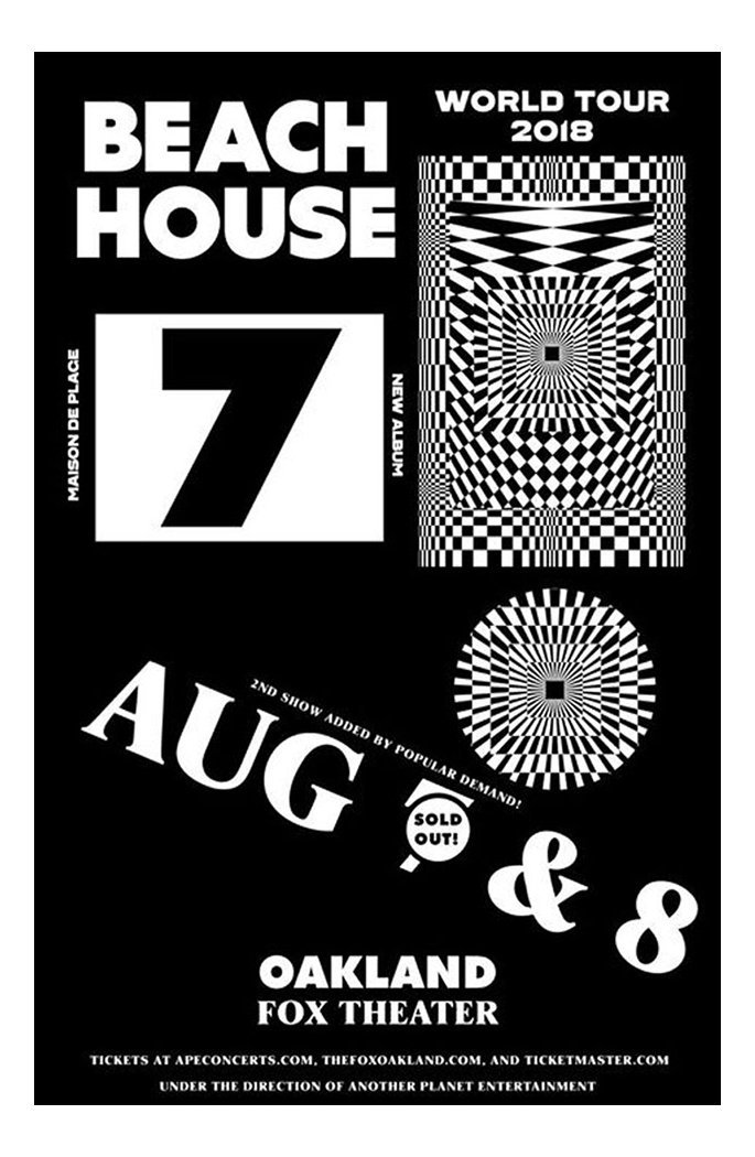 Beach House — 7 posters and merchandise 3