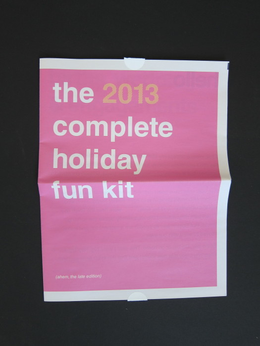 The 2013 Complete Holiday Fun Kit 1