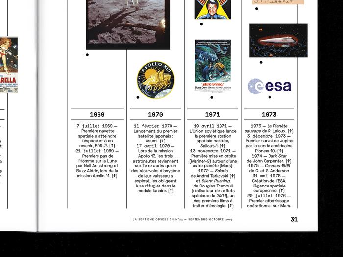 """La Septième Obsession, issue 24, """"Espace & Cinéma"""" 6"""