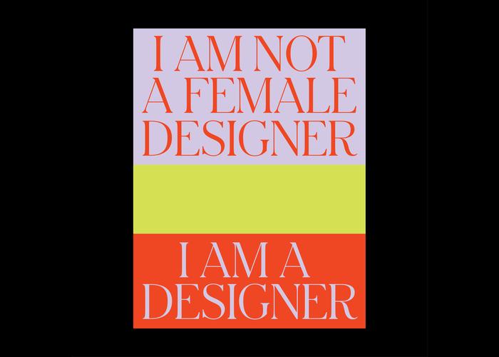 """I Am A Designer"" poster"