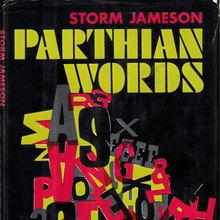 <cite>Parthian Words</cite> by Storm Jameson (Harper &amp; Row)