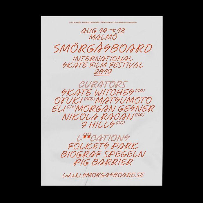 Smörgåsboard Skate Film Festival 2019 2