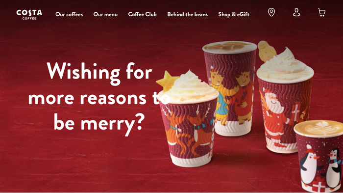 Costa Coffee (2018 rebranding) 1