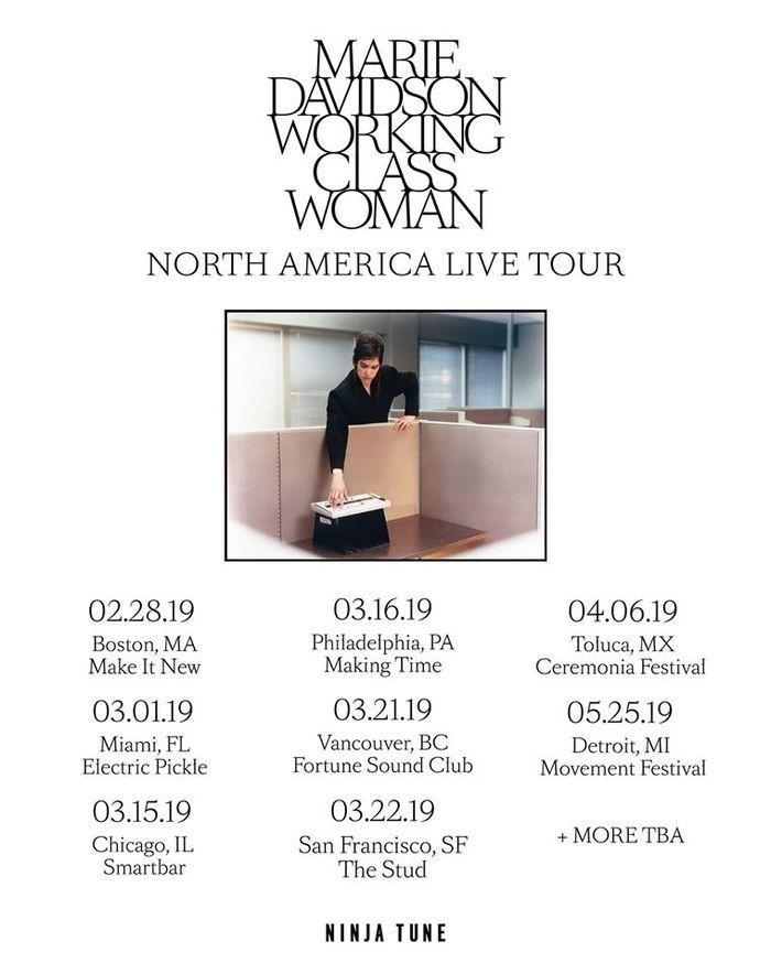 Marie Davidson — Working Class Woman album & singles 8